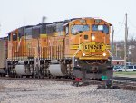 BNSF #9885 And BNSF #8845