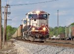 BNSF #9728 Leading A Southbound Baldwin Coal