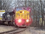 UP #8044 And NS #2663 Leading The 224