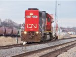 CN #5845 Single Car Train