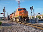 BNSF #6287 Leading A Southbound Grain