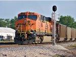 BNSF #5952 Running DPU