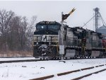 NS #9568 Past The Semaphore, In The Snow