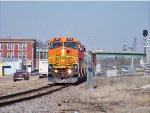 BNSF #500 Leading The Southbound Local