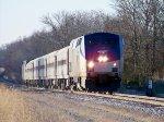 Amtrak #161 Leading 390