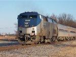 Amtrak #127 Running DPU