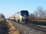 Amtrak 390 Lead By Amtrak #127