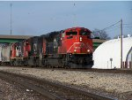 Southbound CN Mixed Freight