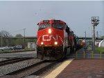 CN #2306 Leading A Rail Train