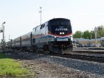 Amtrak #822 Leading Amtrak 392