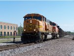 BNSF #9963 Leading A Northbound Baldwin Empty Coal