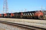 CN #2427 Leading M336 Through Centralia
