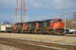 CN A432 Waits For A Clear Signal