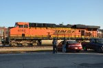 Two Railfans And BNSF #6150