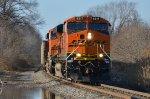 BNSF #6317 Leading A Loaded Coal
