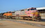 BNSF #839 And CN #2156