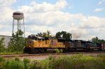 UP #3911 Leading A Northbound Mixed Freight