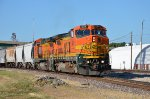 BNSF #534 Leading The Southbound Local