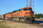 BNSF #6082 Leading A Southbound Coal
