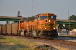 BNSF #9933 Leading A Southbound Loaded Coal
