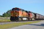 BNSF-E&W Empty Grain Train