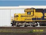 BNSF SD40-2 6852