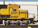 BNSF SD40-2 6767