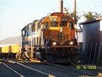 BNSF SD40-2 6725
