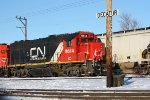 IC 9614 at CN Grand Yard