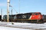 CN 5666 at CN Grand Yard