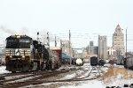 NS 8992, westbound NS 33J