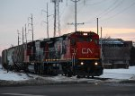 CN 2113, northbound CN train A43171-11
