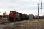CN 2646, northbound grain train