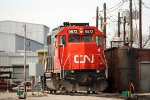 IC 9572 in the CN Grand Yard