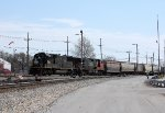IC 1003, northbound CN train A43171-05 entering the Decatur Yard