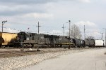 CN A43171-10 pulls into the CN Decatur Yard