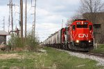 IC 9571, southbound CN train L55091-11