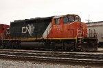 CN 5339 in the CN yard