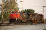 CN 2670 and IC 1027 switching at the Decatur Yard