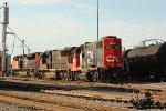 CN A43171-04 power at the CN yard