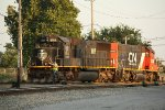 IC 1009 switching at the CN Decatur Yard