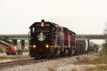 IC 3102, northbound CN L56491-29 (Peoria Local)