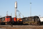 An assortment of power at the CN Grand Yard