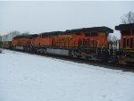 BNSF 7352 and 7854