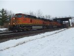 BNSF 4026 and 7295