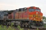 BNSF 4463 closeup