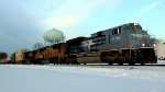 "NS-212 with Union Pacific ""MoPac"" Heritage Unit #1982"
