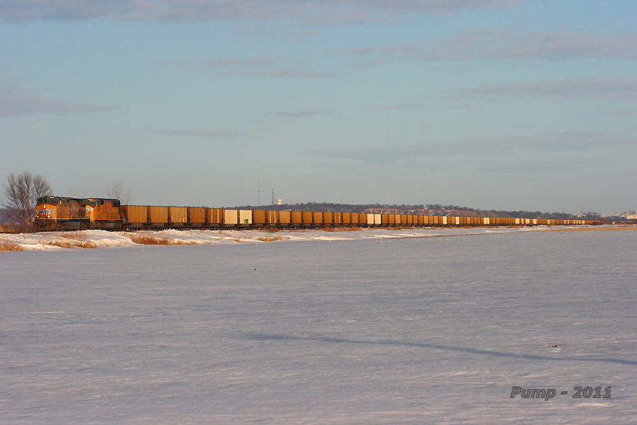 Westbound UP Empty Coal Train