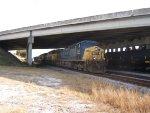 CSX Rock train