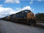 CSX coal train.